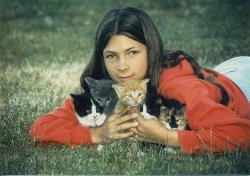 At 12, with five kittens